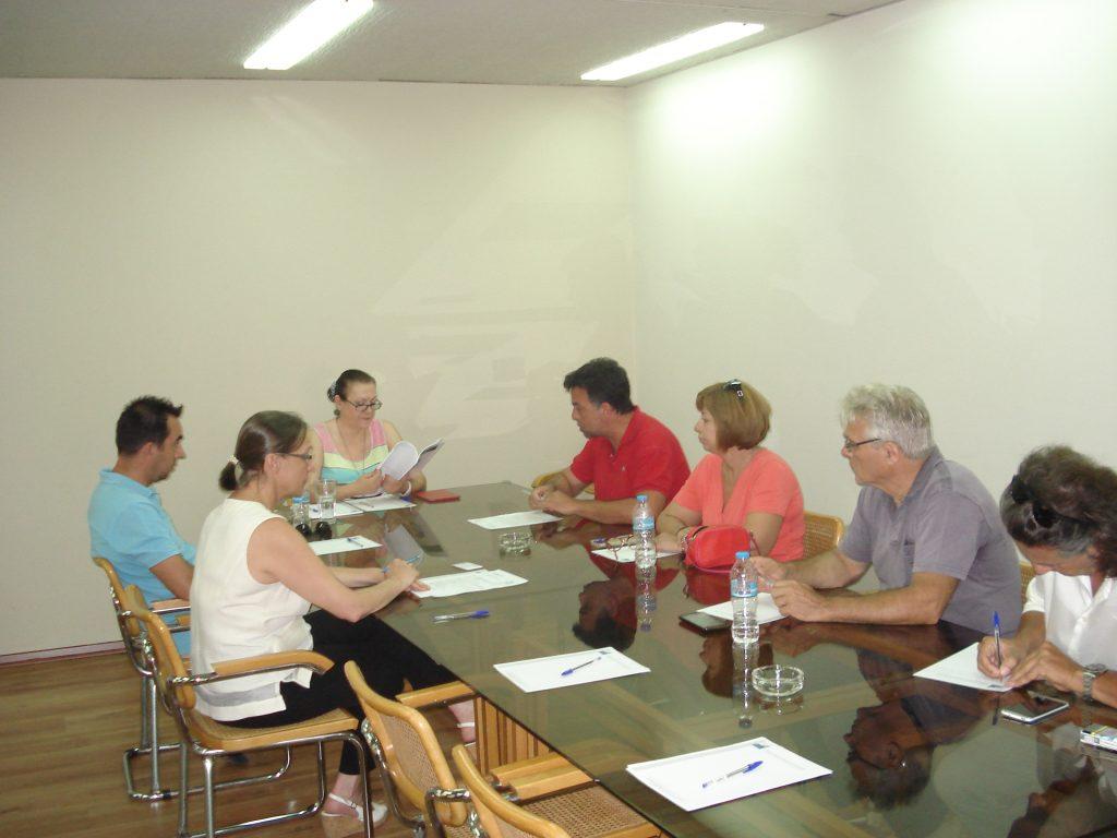 Συνάντηση εργασίας ΣΒΘΚΕ-ΟΕΒΕΜ