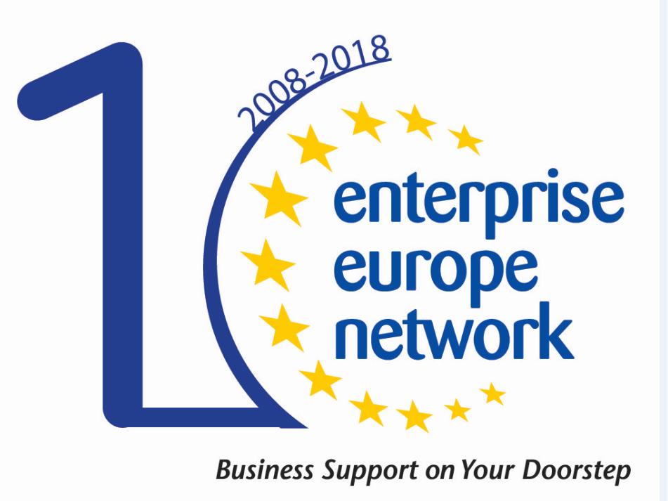 Ενημερωτική Εγκύκλιος Αυγούστου 2018 του Enterprise Europe Network-Hellas του ΣΒΘΚΕ