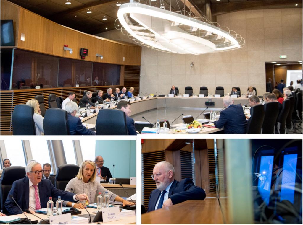 ΣΥΝΕΔΡΙΑΣΗ ΤΟΥ ΣΩΜΑΤΟΣ ΤΩΝ ΕΠΙΤΡΟΠΩΝ: προετοιμασίες της Επιτροπής ενόψει του Ευρωπαϊκού Συμβουλίου