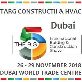 ΠΡΟΣΚΛΗΣΗ συμμετοχής στη Διεθνή Έκθεση Δομικών Υλικών BIG 5 SHOW 2018 Ντουμπάι, 26-29 Νοεμβρίου 2018