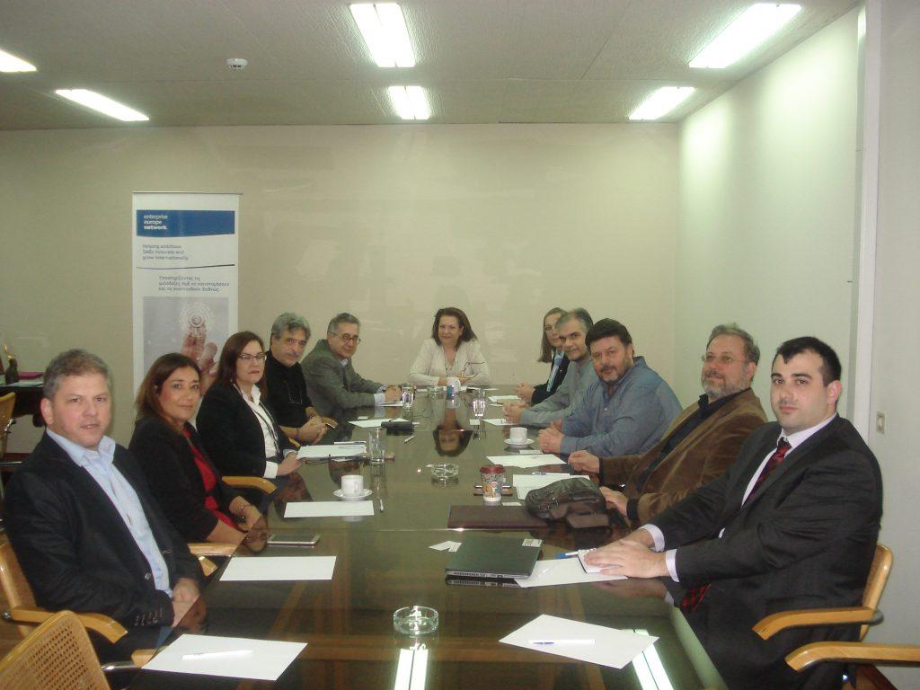 Συνάντηση εργασίας μεταξύ των Διοικήσεων του ΟΛΒ και του ΣΒΘΚΕ