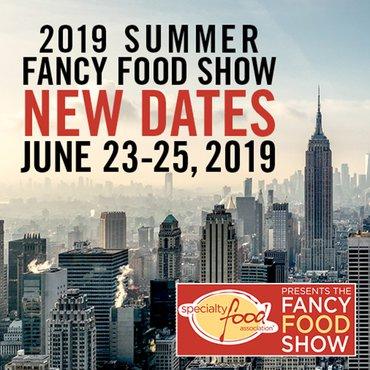65η Διεθνής Έκθεση Τροφίμων και Ποτών SUMMER FANCY FOOD SHOW 2019, 23-25 Ιουνίου 2019, στη Νέα Υόρκη