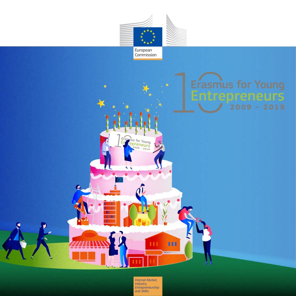 Erasmus για νέους και νέες επιχειρηματίες: βραβείο «Επιχειρηματίας της δεκαετίας»