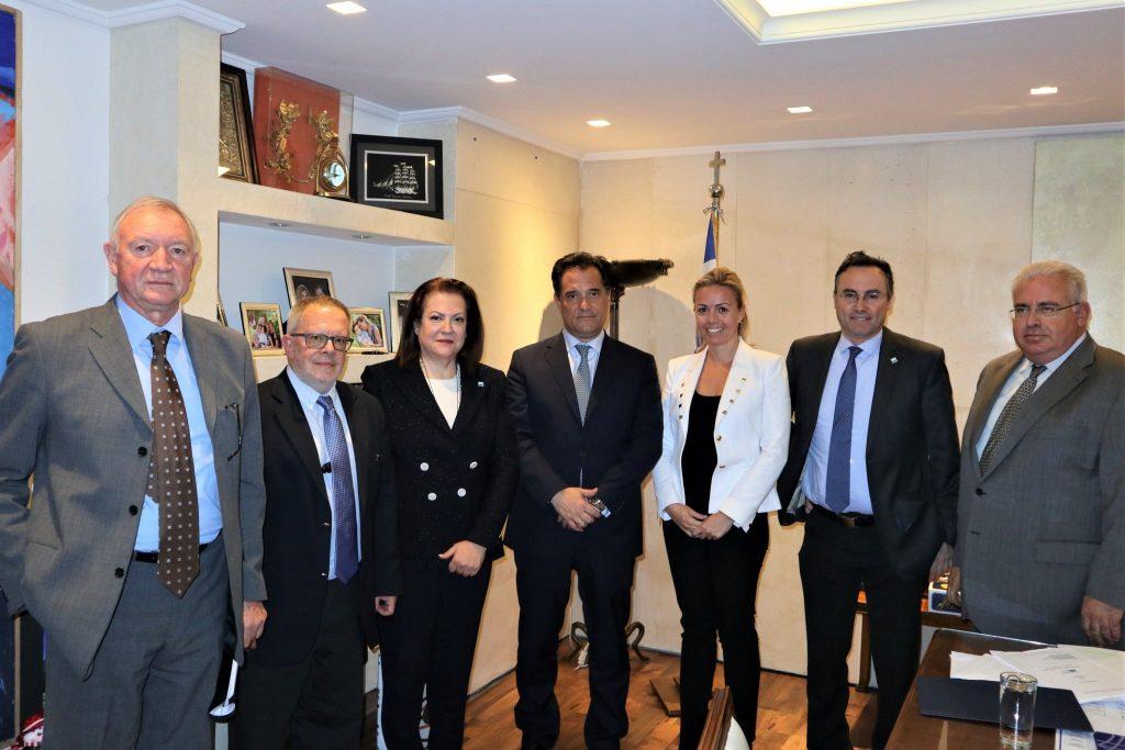 Συνάντηση Εργασίας του ΣΒΘΣΕ με τον Υπουργό Ανάπτυξης & Επενδύσεων, κ. Άδωνι Γεωργιάδη
