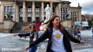 DiscoverEU: Ακόμη 20.000 νέοι θα εξερευνήσουν την Ευρώπη το 2020
