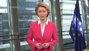 Δηλώσεις της Προέδρου φον ντερ Λάιεν σχετικά με την πρωτοβουλία στήριξης της εργασίας μειωμένου ωραρίου κατά τη διάρκεια της κρίσης του κορονοϊού