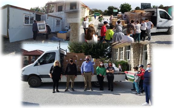Τα Μέλη του ΣΒΘΣΕ συμβάλλουν έμπρακτα στην ανακούφιση των πληγέντων από τον μεσογειακό κυκλώνα ΙΑΝΟ