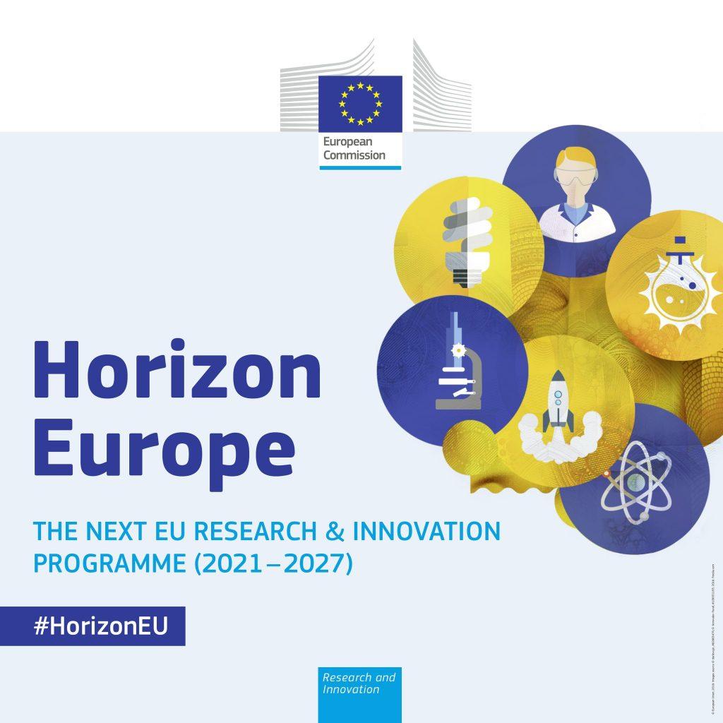 """Διαδικτυακή Ενημερωτική Εκδήλωση με Θέμα: """"Νέο Πρόγραμμα Πλαίσιο """"Ορίζοντας Ευρώπη"""""""", Παρασκευή, 2 Ιουλίου 2021"""